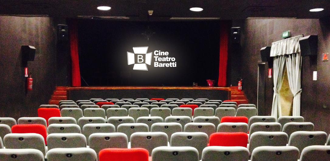 Il palco del CineTeatro Baretti
